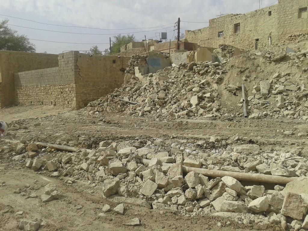 مناطق آلوده مسجدسلیمان – پشت برج،خیابان شهید بابااحمدی