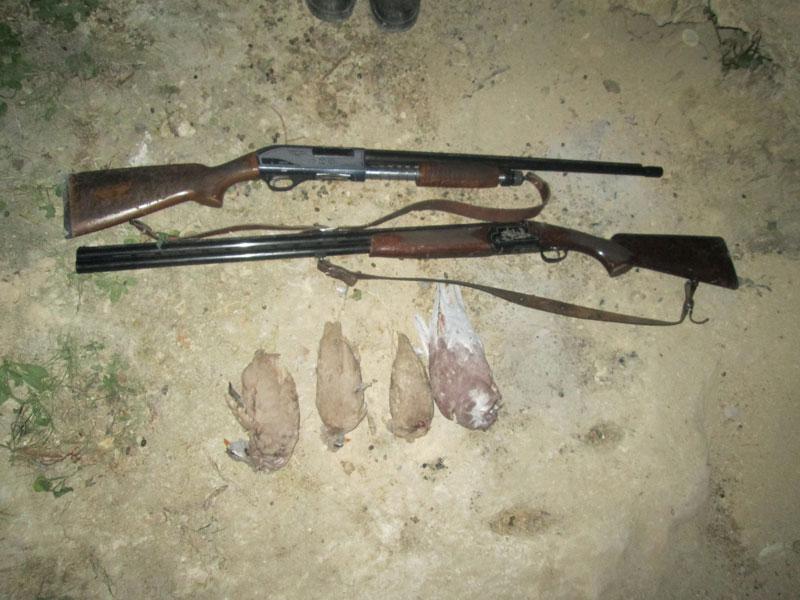 دستگیری شکارچیان غیر مجاز در منطقه شکار ممنوع کوه شو و لندر شهرستان اندیکا