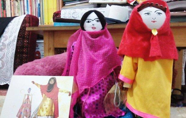 عروسکهایی که روایتهای کودکانه در سینه خود حبس کرده اند…!/عروس خاموش بختیاریها ثبت ملی شد