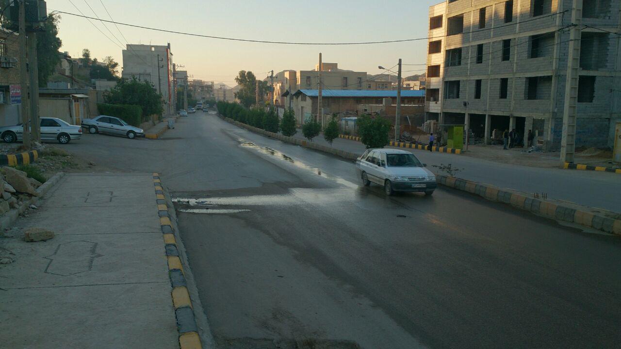پروسه بی توجهی به معضلات فاضلاب مسجدسلیمان همچنان ادامه دارد + تصاویر