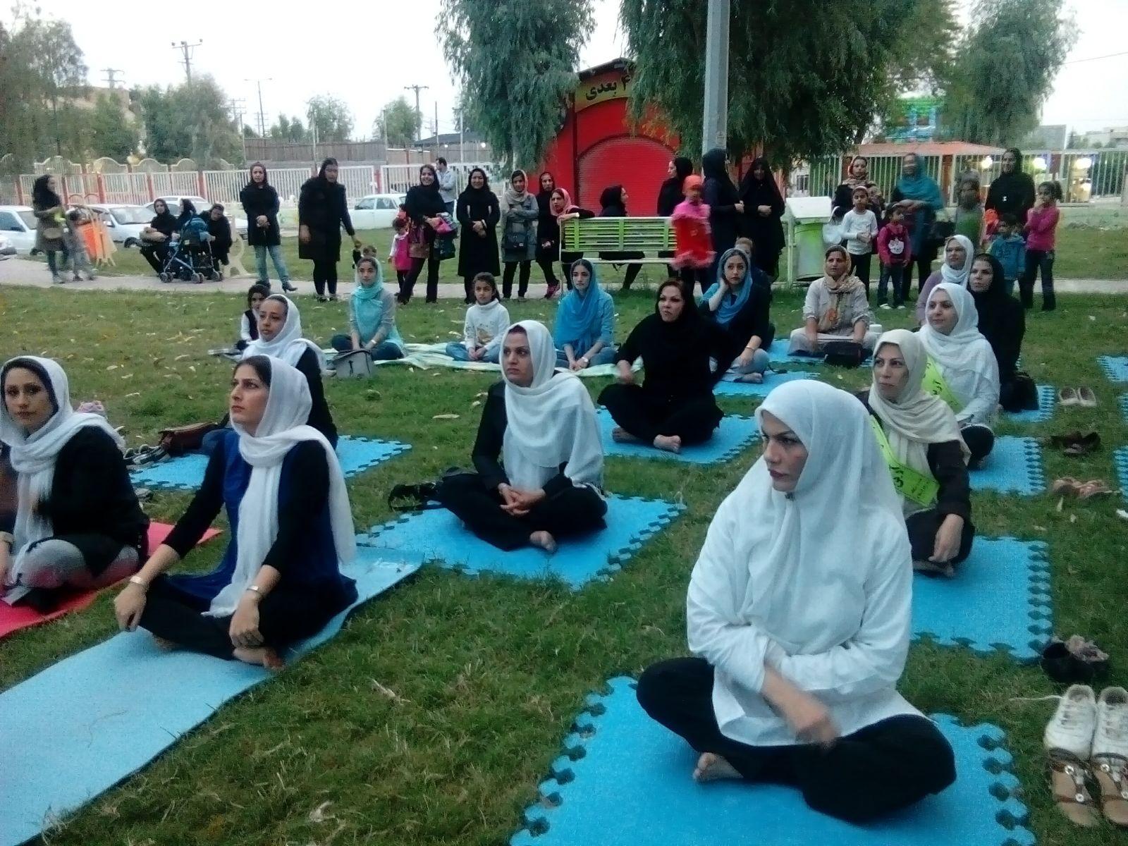 ارتقاء سطح کیفی ورزش بانوان در شهرستان مسجدسلیمان + تصاویر