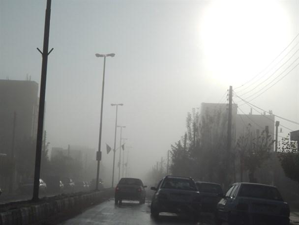 مه صبحگاهی شعاع دید را به ۲۰۰ متر کاهش داد