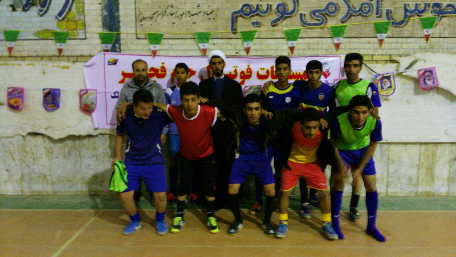 برگزاری مسابقات فوتسال جام فجر یادواره شهدای انقلاب مسجدسلیمان+تصاویر