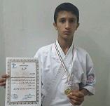 قهرمانی ورزشکار جوان مسجدسلیمانی در مسابقات قهرمانی سبکهای آزاد کشور +تصاویر