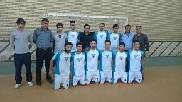 قهرمانی نماینده مسجدسلیمان در لیگ دسته اول فوتسال خوزستان + تصویر