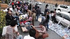 بازار مسجدسلیمان در قُرق دستفروشان … !؟ + تصاویر