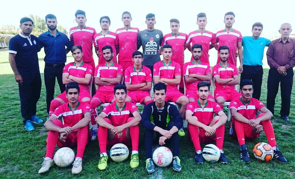 صعود آزادگان مسجدسلیمان به مسابقات لیگ جوانان فوتبال کشور + تصویر