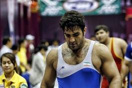 امیر قاسمی منجزی سهمیه سنگینوزن المپیک ریو را گرفت/مدال طلا بر سینه ی فرزند مسجدسلیمان