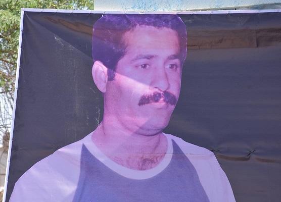 تشییع و خاکسپاری پیشکسوت فوتبال مسجدسلیمان و خوزستان در قطعه هنرمندان + تصاویر