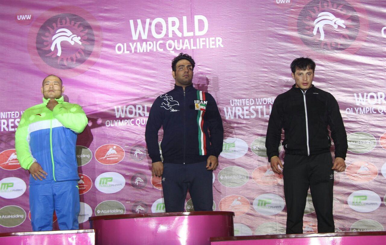گزارش تصویری افتخارآفرینی فرزند مسجدسلیمان در مسابقات مقدماتی المپیک