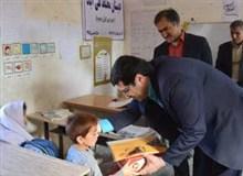 عیدی شرکت آلومینیوم کاوه به دانش آموزان روستایی مسجدسلیمان