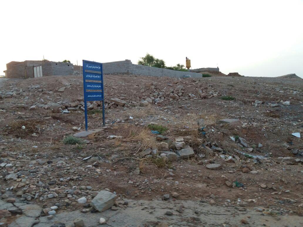 زمین خواری در مسجدسلیمان به اوج رسید … + تصاویر