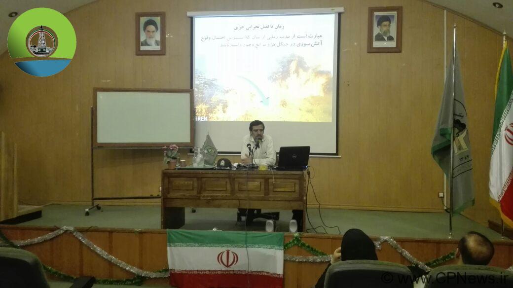 برگزاری کلاس آموزشی ترویجی اطفاء حریق سمن های خوزستان با طعم انتخابات !؟ / حواشی + تصاویر