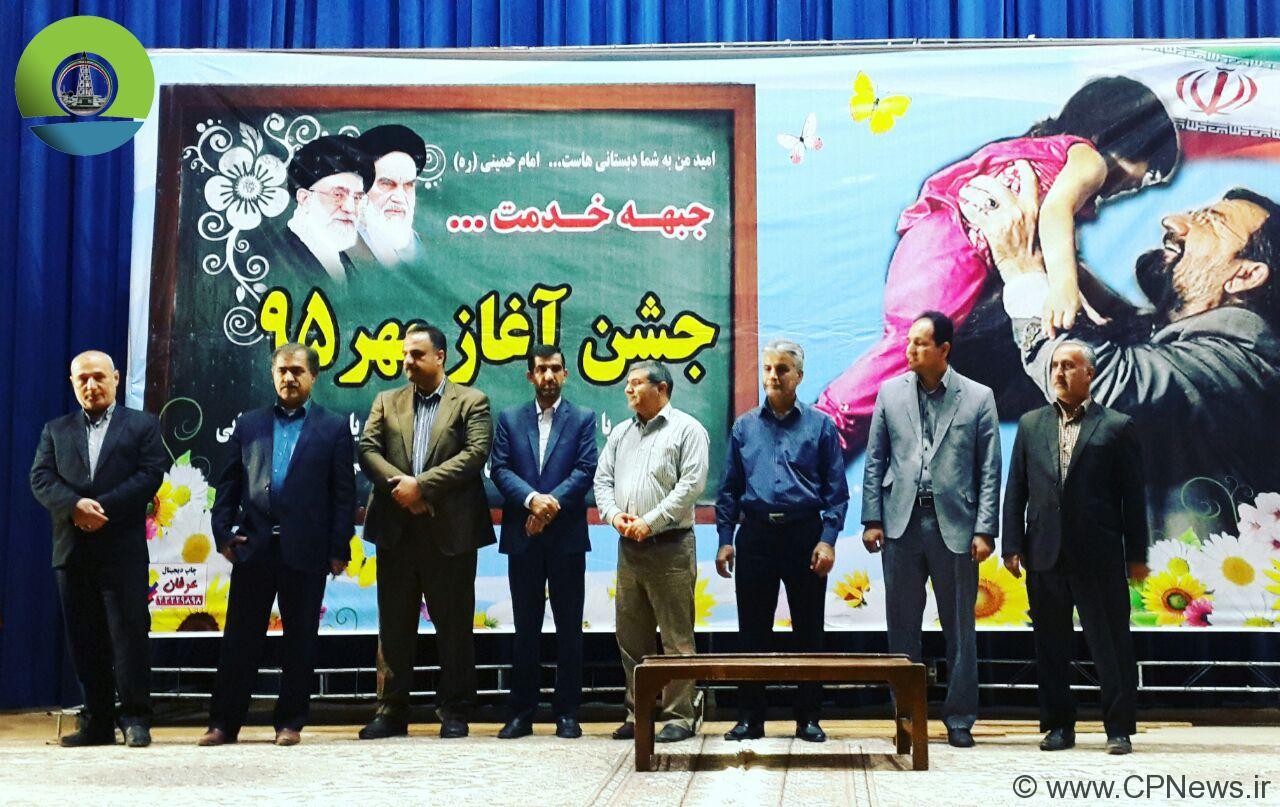 برگزاری جشن جبهه خدمت درمسجدسلیمان + تصاویر