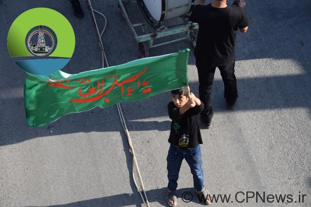 گزارش تصویری عاشورای حسینی در مسجدسلیمان