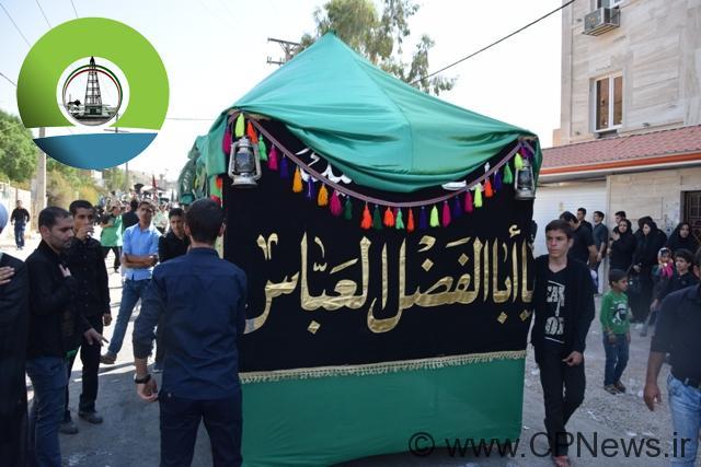 عزاداری هیئت های مذهبی مسجدسلیمان در روز تاسوعای حسینی+تصاویر