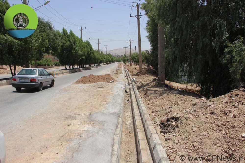 شهردار مسجدسلیمان: اصلاح کانال های جمع آوری و دفع آبهای سطحی نفتک در حال انجام است