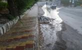 آیا مسئولین آبفا از هدررفت آب در معابر و محلات مسجدسلیمان بی اطلاع هستند ؟! + تصاویر