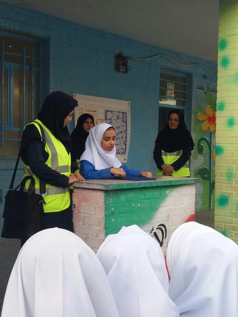 فرهنگ حفاظت از محیط زیست در مدارس مسجدسلیمان نهادینه شده است + تصاویر