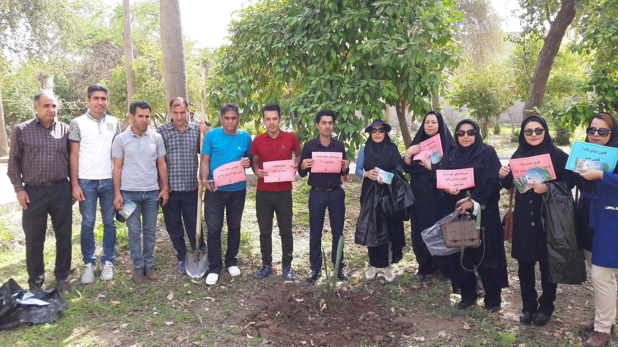 گردهمایی بزرگ نوروزی انجمن های محیط زیستی شمال خوزستان در شوشتر + تصاویر