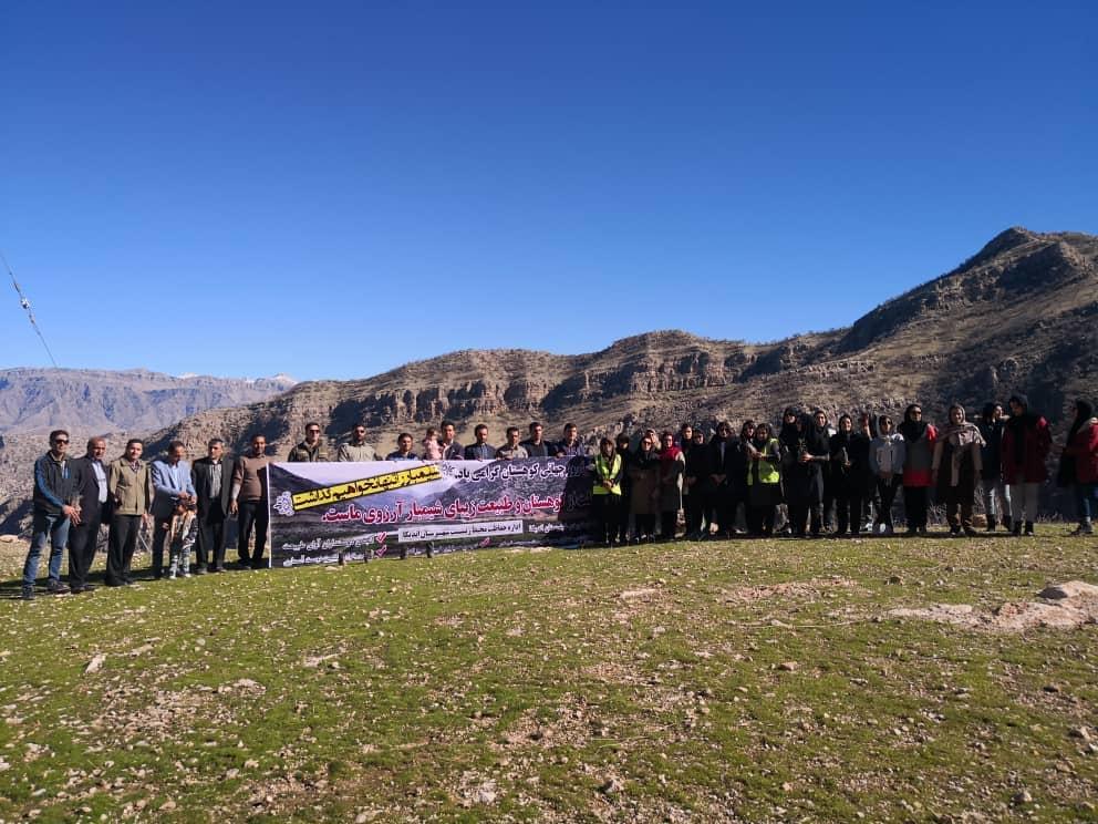 برگزاری دومین تور گردشگری -محیط زیستی انجمن های مردم نهاد مسجدسلیمان + تصاویر
