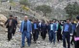 روستای امامزاده شاهزاده عبدالله (ع) منطقه اندیکا همچنان چشم انتظار تحقق وعده های مسئولین