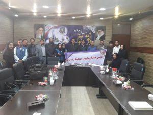 برگزاری نشست جمعی از فعالین محیط زیست خوزستان با تنی چند از مسئولین حمیدیه