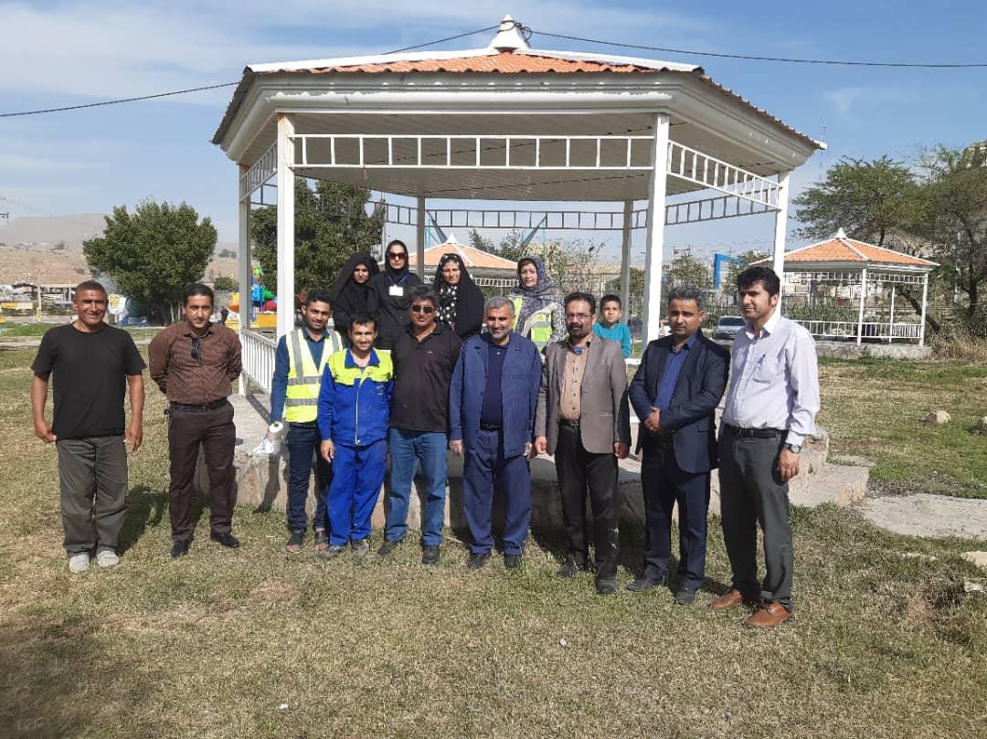 گرامیداشت روز مهندس و وکیل در مسجدسلیمان با کاشت نهال