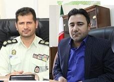 قدردانی از دادستان، فرماندهی انتظامی و پلیس اطلاعات و امنیت عمومی مسجدسلیمان