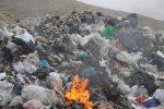 دود سایت دفن زباله صفیره در چشم مردم + فیلم