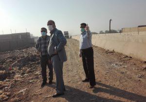 ضرب الاجل دو هفته ای به شهرداری جهت پاکسازی کامل سکوی زباله