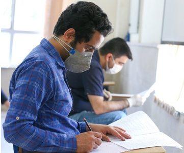 برگزاری هشتمین آزمون استخدامی کشور با رعایت شرایط کرونا در خوزستان