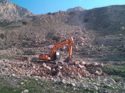 ادامه کوه خواری در بهبهان با سرکوب مطالبه گران و فعالین محیط زیست