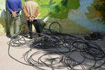 سرقت کابل مخابرات در مسجدسلیمان و تداوم قطعی تلفن مشترکین