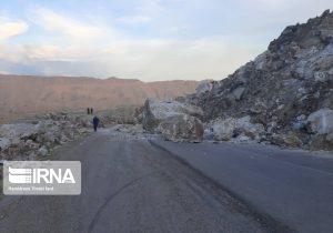 محور مسجدسلیمان_ایذه در منطقه پاگچ همچنان غیرایمن و حادثه ساز +تصاویر