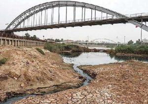 «رودخانه کارون» جان می دهد؛ تنگی نفس آب شش ایران