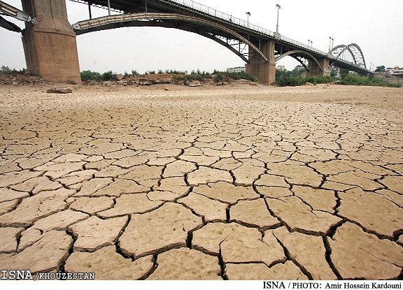 فرصت های از دسته رفته مدیریت خشکسالی خوزستان