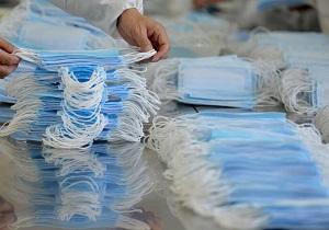 تولید غیرمجاز ماسک در مسجدسلیمان همچنان ادامه دارد