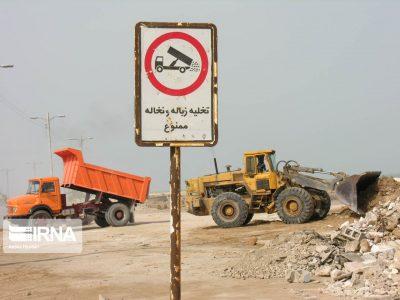 وضعیت نگران کننده نخاله های ساختمانی در اهواز و لزوم اجرای قانون مدیریت پسماند