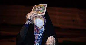 اجرای مراسم شب های قدر خوزستان در فضای باز