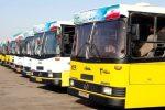 خانه نشینی اتوبوسها در اهواز به بهانه کرونا