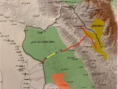 مجوز زیست محیطی جاده اهواز-مسجدسلیمان صادر نشده است + سند