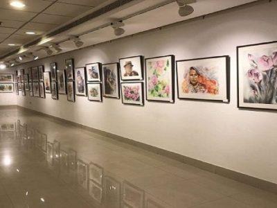 درِ نمایشگاه نقاشی به روی بهبهانیها باز است