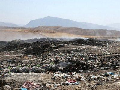 مکان دفن اصولی زباله در ایذه تعیین شد