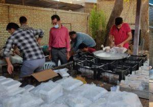 پخت بیش از۱۵ هزار پرس غذا در روز عید غدیر خم + تصویر