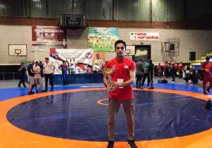 سینا طالبوند نائب قهرمان جام ایوانوویچ صربستان