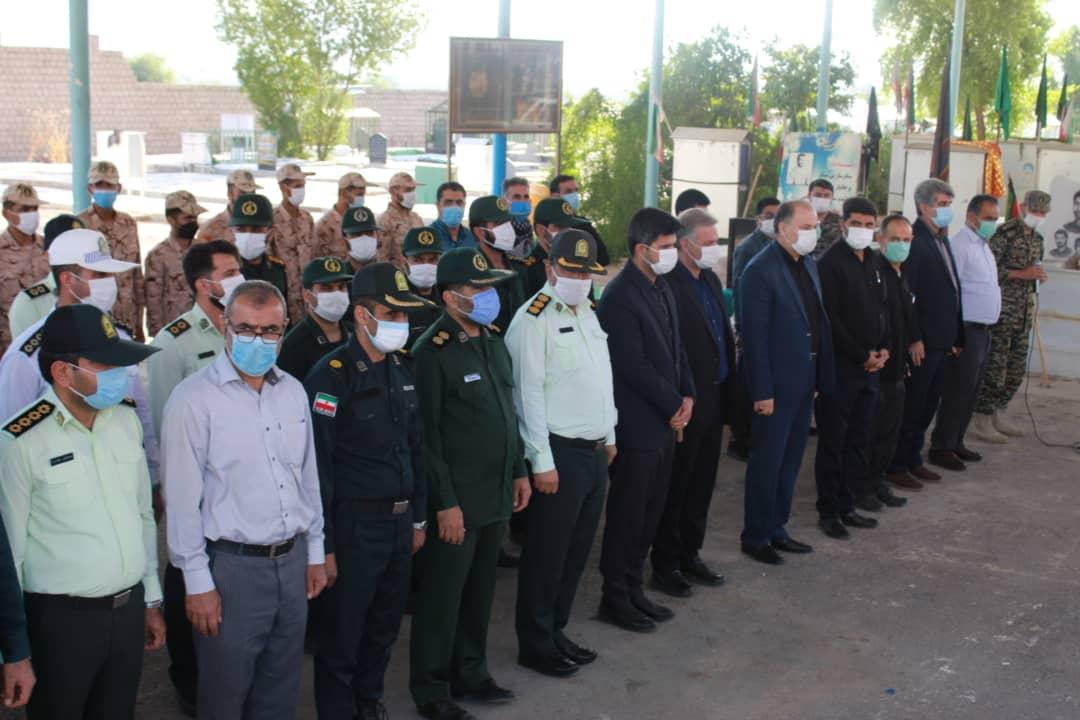 ادای احترام مسولین شهرستان گتوندبه مقام والای شهدا+ تصاویر