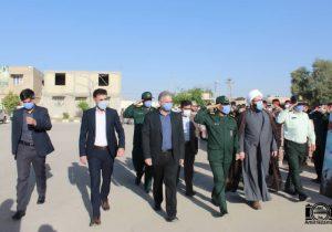 گزارش تصویری از برگزاری مراسم صبحگاه مشترک در سپاه ناحیه گتوند