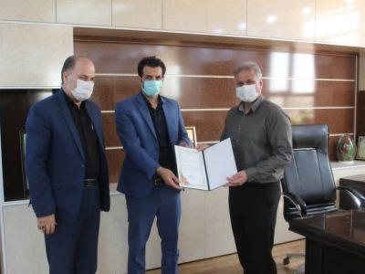 مسئول کانونخبرنگاران شهرستان گتوند معارفه شد