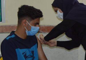 واکسیناسیون ۵۱ درصدی دانش آموزان شهرستان گتوند